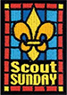 Scout Sunday graphic